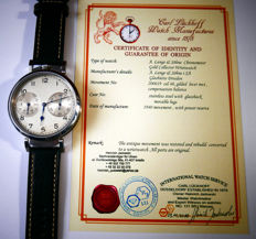 A. Lange & Söhne German military II WW  U-Boot Navy Officers Observation Watch from the 1940's