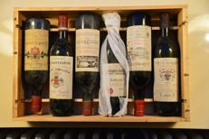 Mixed Case St. Emilion Grand Cru (Classé) & Pomerol 1970 - 6 bottles