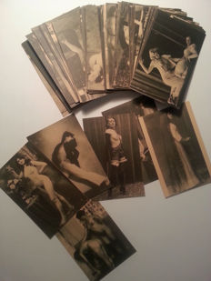 Postcards; Lot with 96 erotic postcards - approx. 1970
