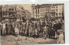 73 X Belgium-various places mostly from French Belgium including fun snaps-period:1935/1960 small format cards