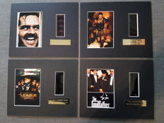 film cells: the Shining / the Godfather/ Gladiator series 2 / the league of extraordinary gentlemen