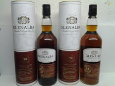 2 bottles - Glenalba 28-year-old Sherry Cask Finish