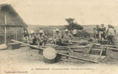 Madagascar Africa 67 x - various places, attractions and types - 1900/1935