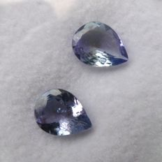 Tanzanite Matching Pair – 1.99 ct total