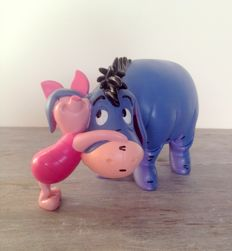 Disney - Figure - Eeyore and Piglet (c. 1980/1990)