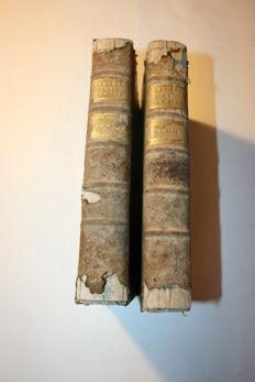 Percival Pott - Oeuvres chirurgicales. - 2 volumes -  1777