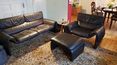 De Sede - DS 2011 sofa, armchair and ottoman