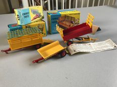 Corgi Toys - Various scales - Trailer No.51, Beast Carrier No.58 and Trailer No.62