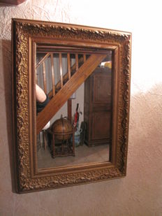 Mirror in wood and stucco - 19th century - France