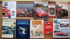 Oldtimer books 10 pieces