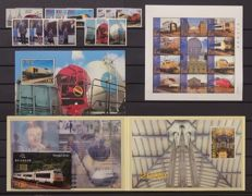 Belgium 1996/2001 - Selection of Railway vignettes - TRV1/16 - TRV–BL1/3