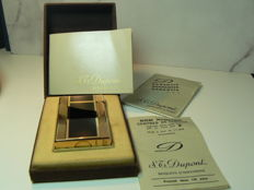 Dupont Windsor Lighter - Chinese lacquer and gold-plated