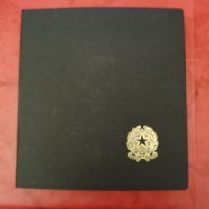 Italy, Republic, 1946/1975 - collection in album with Bolaffi mounts