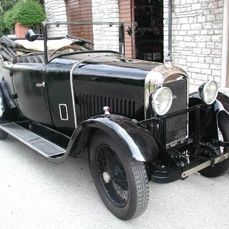 Amilcar G Type convertible - 1927