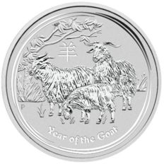 Australia - Dollar 2015 'Year of the Goat' - 1 oz silver