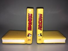 Disney Classics - 2 Original vintage bookends - Mickey and Minnie Mouse (1980's)