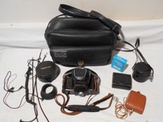 Pentax camera / spotmatic /reporter's bag + numerous accessories /  1964 1968