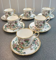 Priory Dale, Derbyshire 6 cups and saucers