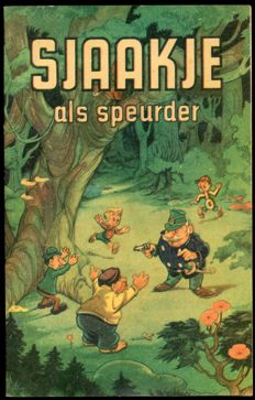 "Marten Toonder Studios - ""Sjaakje als speurder"" - advertising booklet VIVO - (1956)"