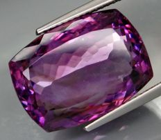 Amethyst – 18.32 ct.    -  IGE Certificate   ***NO RESERVE PRICE***