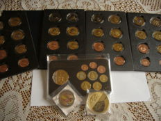 Vatican - 5x Sets Probe coins and medals