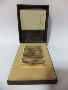 S.T. Dupont Paris - Gold plated lighter in case