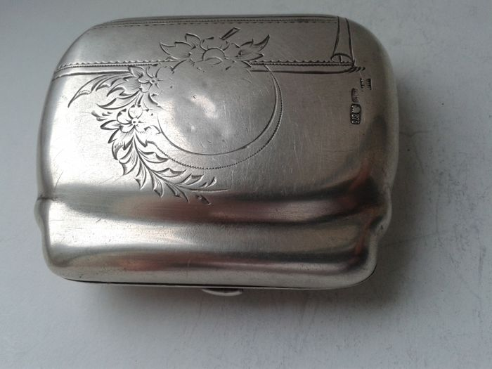 Imperial Russia, silver jewellery box, performer INM, Russia, Moscow, XIX/XX c.