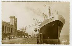 Shipping - shipping company cards / postcards / harbour views of several countries / types 1900-2000 - 116 pieces