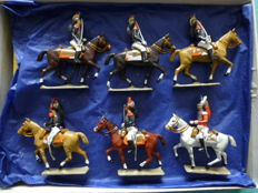 Miniature soldiers of the 1st Empire