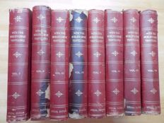 Charles Morris & Oliver H.G. Leigh (red.) - With the World's Great Travellers - 8 Volumes - 1901