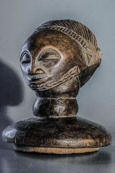 Old & Nice Janus hemba staff - HEMBA people - D.R. Congo
