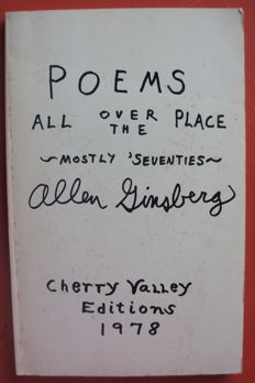 Allen Ginsberg - Poems all over the place - 1978