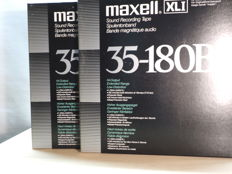 Maxell UD XL I  35-180 on 26 cm. NAB metal precision reel with rare Rolling Stones live Radio broadcasts