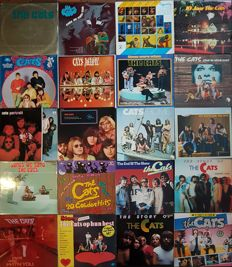 Huge collection of the Cats albums: 20 original vinyl albums (23 LPs) from 1968-1984.  Bonus: The Cats DVD Collection
