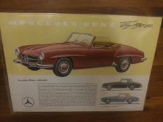 Mercedes-Benz 190 SL en 300 SL (Gullwing).
