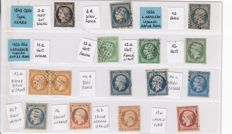 France 1850/1950 - set from classics up to 1950