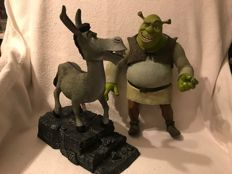 McFarlane speaking figures: Shrek and Donkey