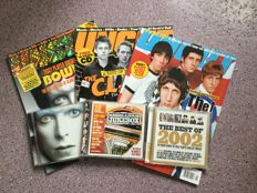 UNCUT Magazine complete year 2003 incl. CD's, lot of 13 issues.