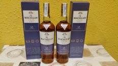 2 bottles - Macallan Fine Oak 18 years old.