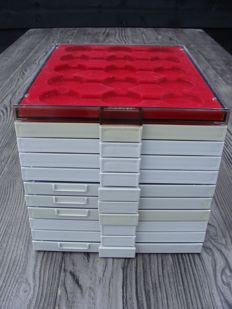 Accessories - Various coin boxes (11 pieces)