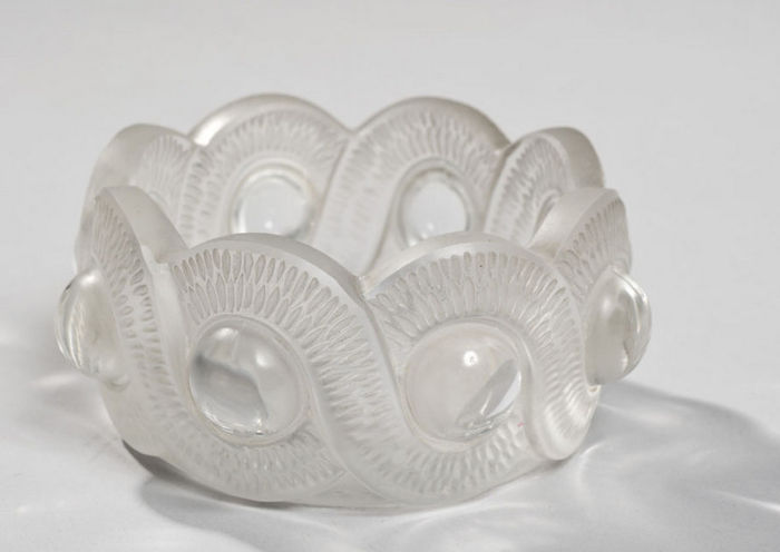 Lallique - Ashtray crystal Gao