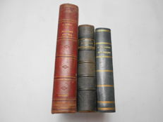 Botany; Lot of 3 books - 1857/1884