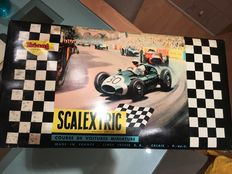 Scalextric-Triang - Scale 1/32 - Circuit of racing cars model 2 race cars and 5 rally cars