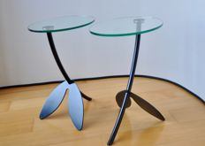 "Thomas Althaus for Metaform – side tables ""Papillon"""