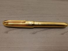 Rare Louis Cartier fountain pen Plaque Or Gold Plated, never used