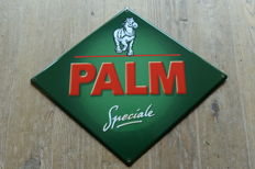 "Enamel advertising sign for ""Speciale Palm"" from 2002"