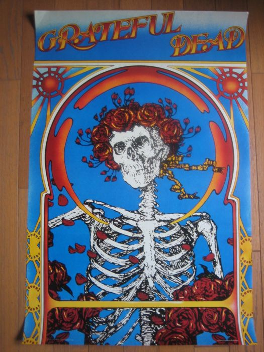 "Grateful Dead ""Skull & Roses"" US Tour 1971"