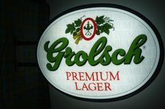 Great neon GROLSCH- Brewery logo.