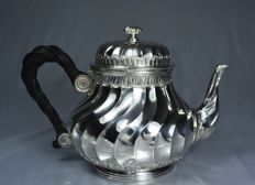 Silver Teapot, France, Paris, circa 1884