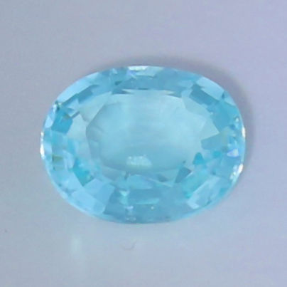 """ Neon Greenish Blue "" Paraiba Tourmaline"" - 0.59 ct."
